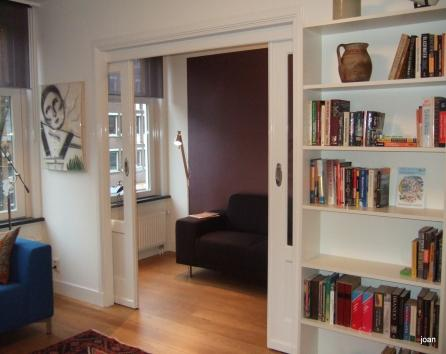 doors between lv rm and office