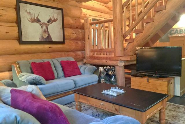Mt. Baker Lodging Cabin #10 – REAL LOG CABIN, GR-8 AMENITIES, WIFI, SLEEPS-8! photo 59321