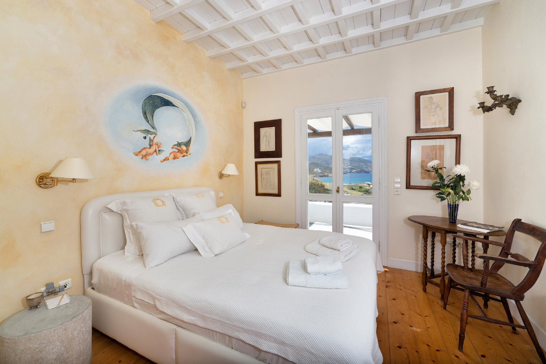 Apartment The Galaxy Mykonos villa with large pool and yoga platform photo 6005324