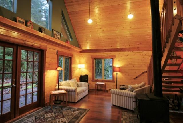 Mt. Baker Lodging Cabin #21 – REAL LOG CABIN, BBQ, PETS OK, SLEEPS-6! photo 59552