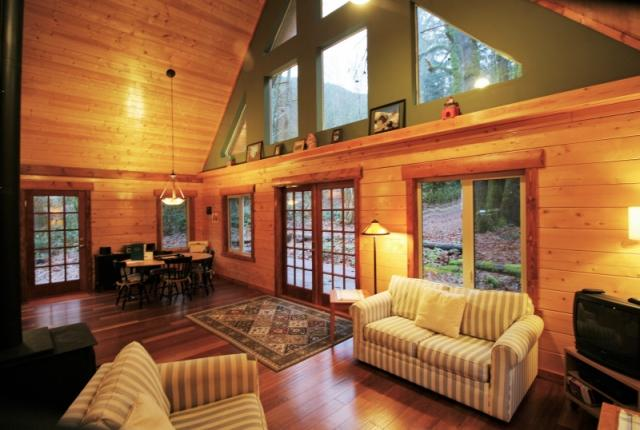 Mt. Baker Lodging Cabin #21 – REAL LOG CABIN, BBQ, PETS OK, SLEEPS-6! photo 59553
