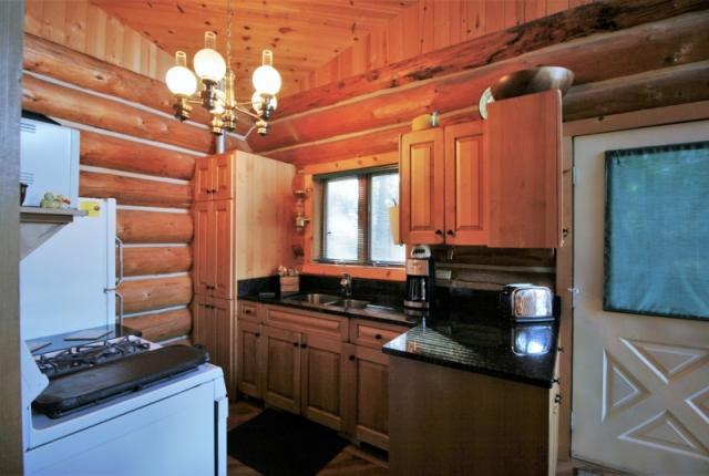 Mt. Baker Lodging Cabin #97 – REAL LOG CABIN, LAKESIDE, DOCK, PETS OK, SLEEPS-6! photo 60986