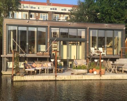 Room on luxury houseboat close to Jordaan photo 36866