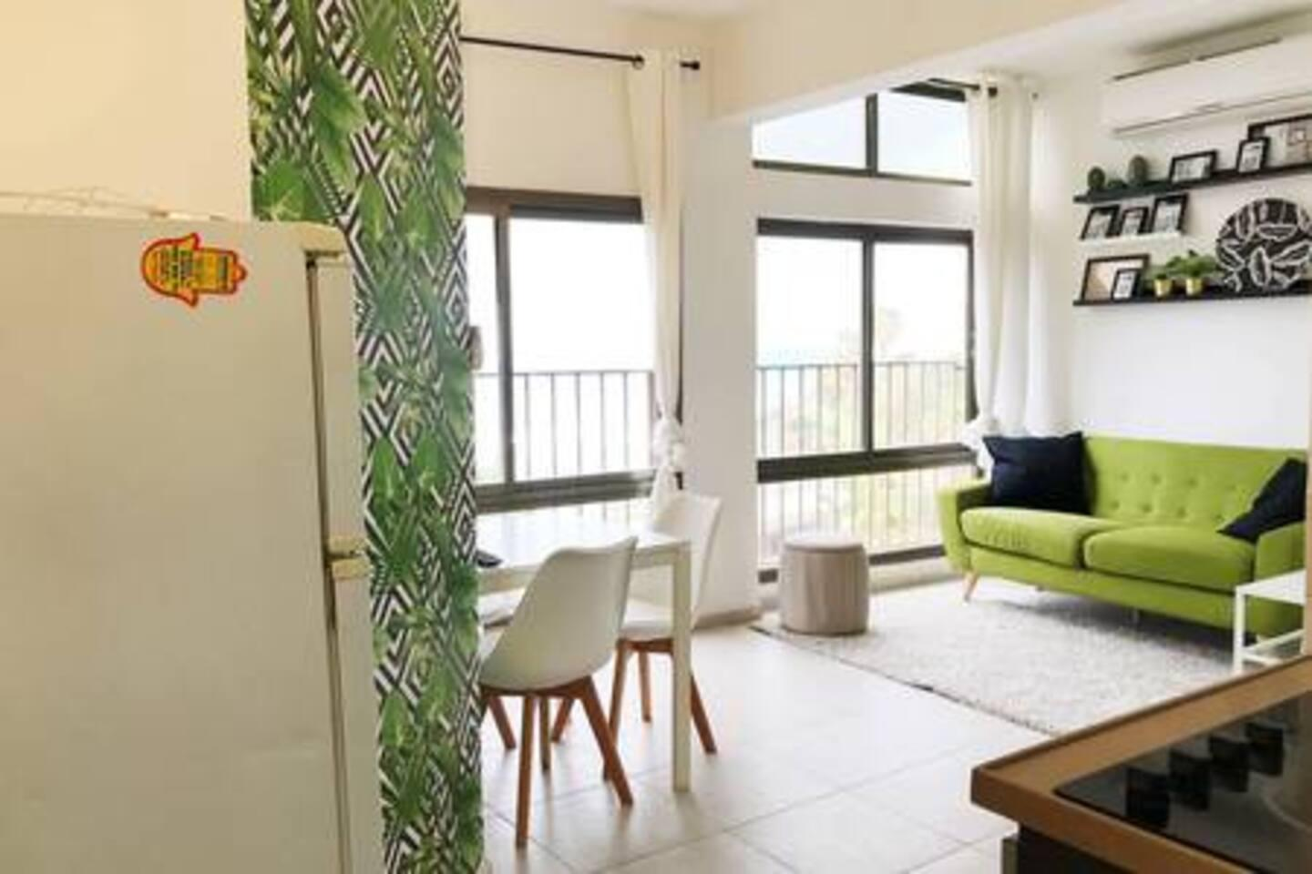 Sea View tropical designed apt in front of Hilton photo 22805978